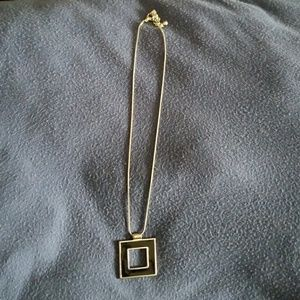 Jewelry - Black and silver necklace